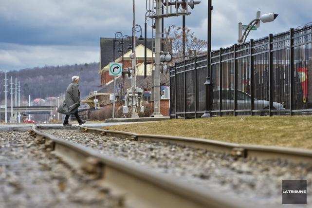 La sécurité ferroviaire fait partie des deux dossiers... (Archives La Tribune, Jocelyn Riendeau)