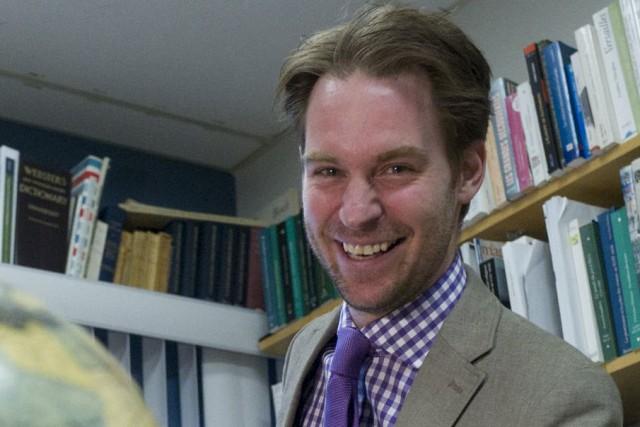 Laurent Turcot, historien et professeur à l'UQTR....