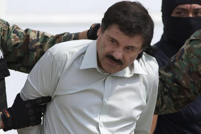 JoaquinGuzman avait été arrêté en février 2014 après... (PHOTO ARCHIVES AP)