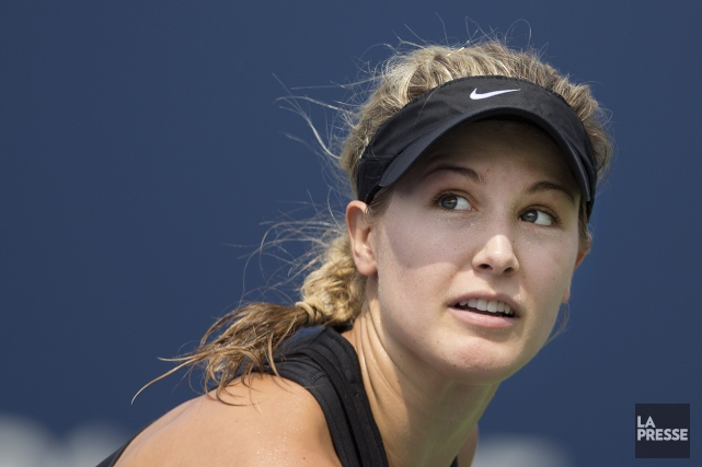 Eugenie Bouchard... (Archives La Presse)