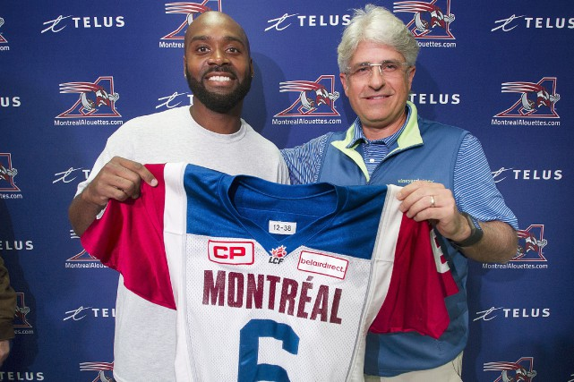 Kevin Glenns'amène en renfort au poste de quart... (La Presse Canadienne, Graham Hughes)