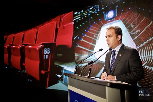 Le propriétaire du Canadien, Geoff Molson,a annoncé mercredi... (La Presse, André Pichette)