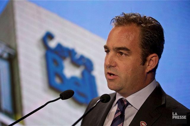 Geoff Molson, propriétaire du club de hockey Canadien,... (La Presse)