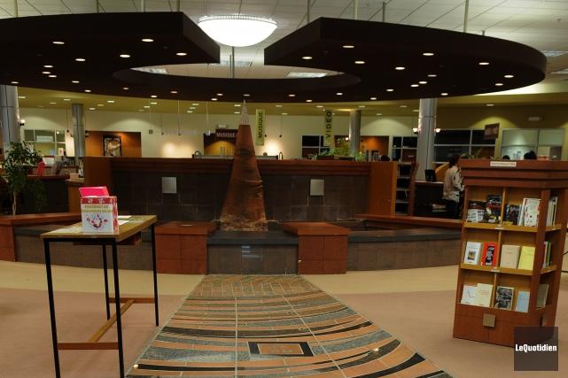 La réouverture de la bibliothèque de Chicoutimi, fermée... (Archives Le Quotidien, Rocket Lavoie)