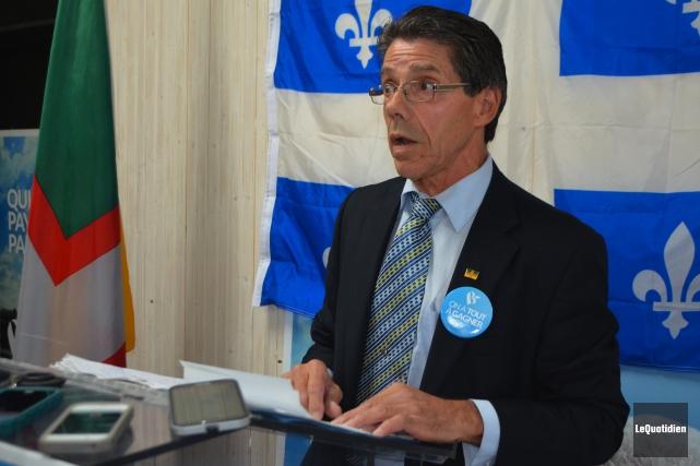 Le candidat du Bloc québécois dans Lac-Saint-Jean, Sabin... (Archives Le Quotidien)