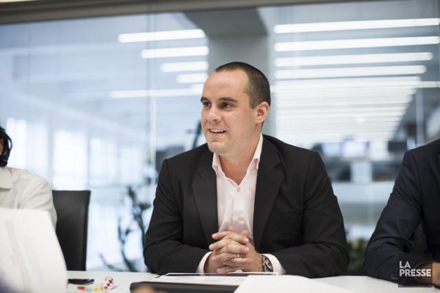 Le directeur d'Uber à Montréal, Jean-Nicolas Guillemette.... (PHOTO OLIVIER PONTBRIAND, ARCHIVES LA PRESSE)