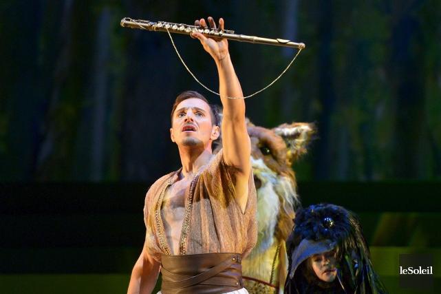 La flûte enchantée prend l'affiche à l'Opéra de... (Le Soleil, Yan Doublet)