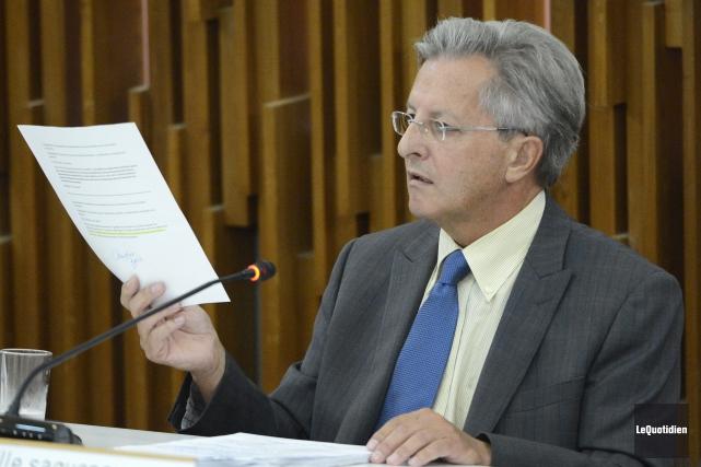 L'annonce a été faite hier par le maire... (Archives Le Quotidien)