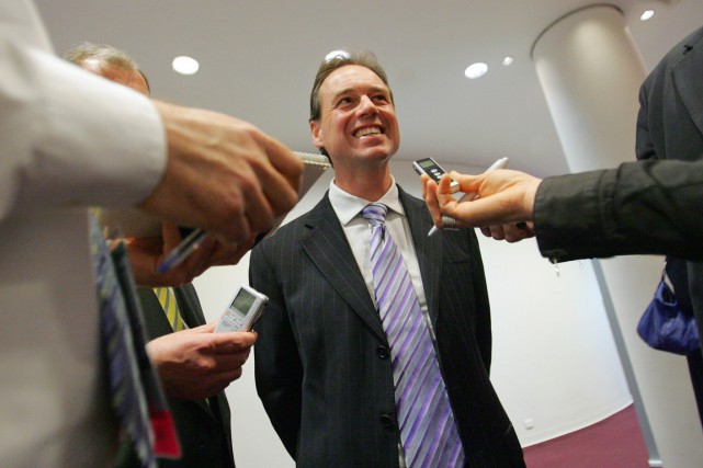 Le ministre australien de l'Environnement, Greg Hunt, a... (PHOTO SERGIO DIONISIO, ARCHIVES BLOOMBERG NEWS)