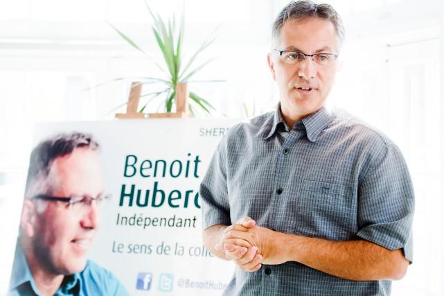 Le candidat indépendant dans Sherbrooke, Benoit Huberdeau, estime que le... (Archives La Tribune)