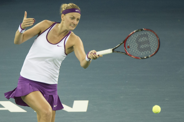 Petra Kvitova... (Photo Fred Dufour, AFP)