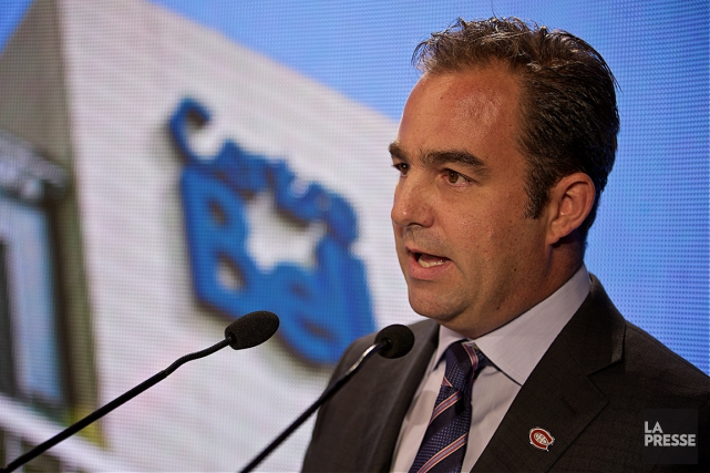 Geoff Molson a annoncé mercredi des investissements privés... (Photo André Pichette, La Presse)