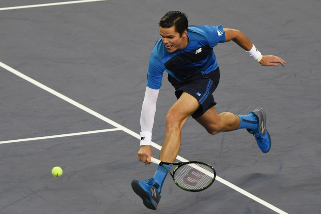 Milos Raonic... (Photo Greg Baker, archives AFP)