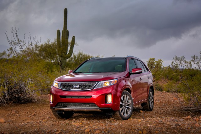 Le Kia Sorento 2013... (PHOTO FOURNIE PAR KIA)