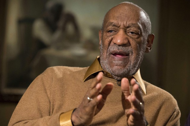Bill Cosby lors d'une entrevue en 2014.... (PHOTO ARCHIVES AP)