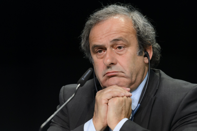 Le président de l'UEFA, Michel Platini, a été suspendu... (PHOTO FABRICE COFFRINI, ARCHIVES AGENCE FRANCE-PRESSE)