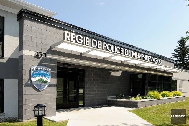 La Régie de police de Memphrémagog (RPM) a mis la main au collet d'un individu... (Archives La Tribune, Frédéric Côté)