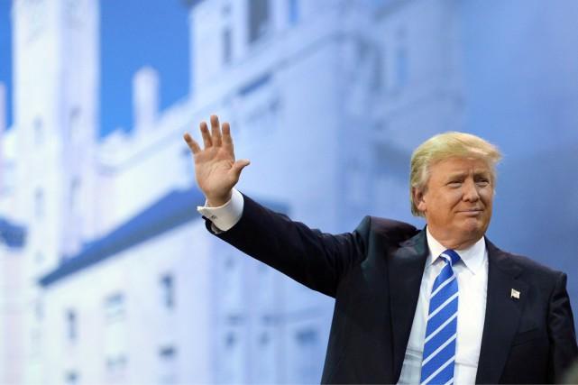 Quatre mois après son entrée en campagne, Donald... (PHOTO MANDEL NGAN, AFP)