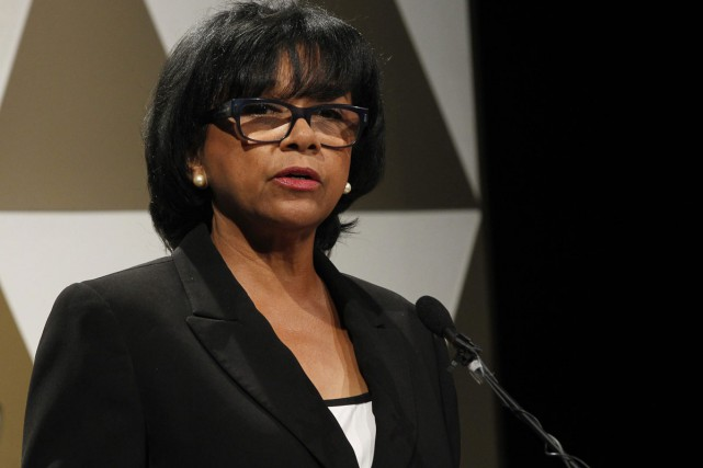 Cheryl Boone Isaacs, présidente de l'académie hollywoodienne du... (PHOTO ARCHIVES AP)