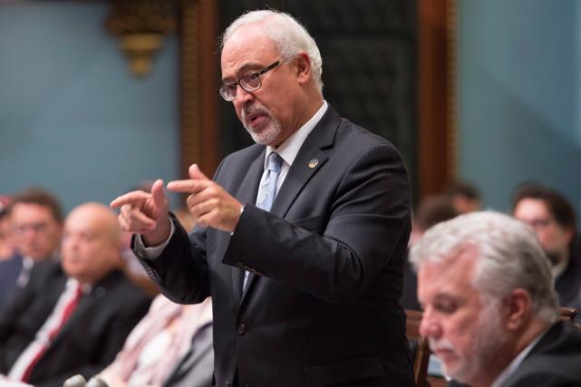 Le ministre des Finances du Québec, Carlos Leitao.... (Photo Jacques Boissinot, archives PC)