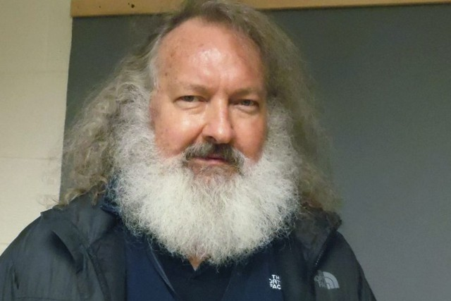 Randy Quaid lors de son arrestation au poste... (PHOTO AP)