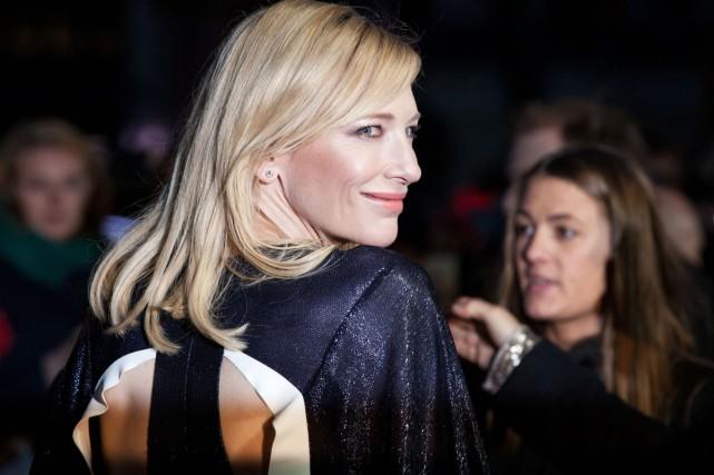 Cate Blanchett à la première du film Carol... (PHOTO AP)