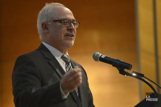 Le ministre des Finances, Carlos Leitao, a été... (Archives, La Presse)