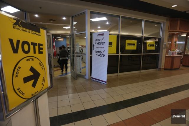 Voter risqué, c'est voter pour un député de plus pour le Bloc, et un député de... (Catherine Trudeau, Archives La Voix de l'Est)