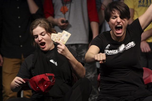 Le Punch club organise des matchs d'improvisation sans... (Photo fournie)