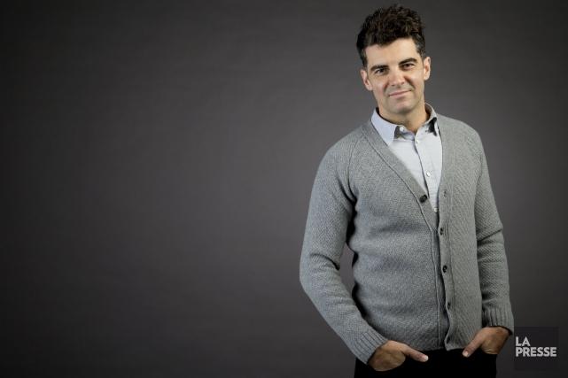 Le comédien David Savard, originaire de Dolbeau, est... (Photo La Presse, David Boily)