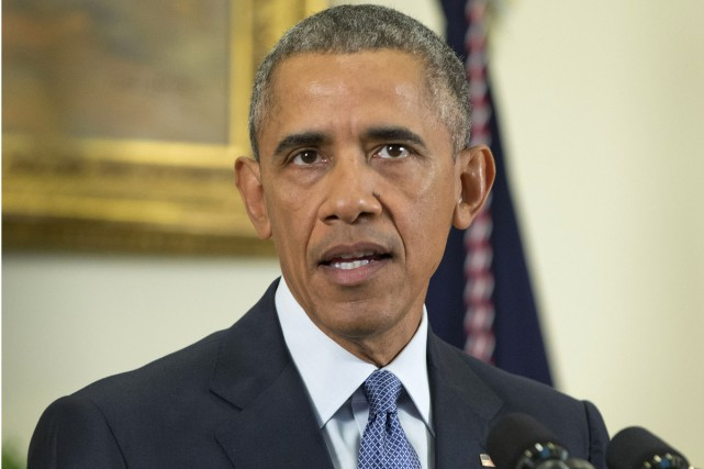 Le président américain Barack Obama... (Associated Press)
