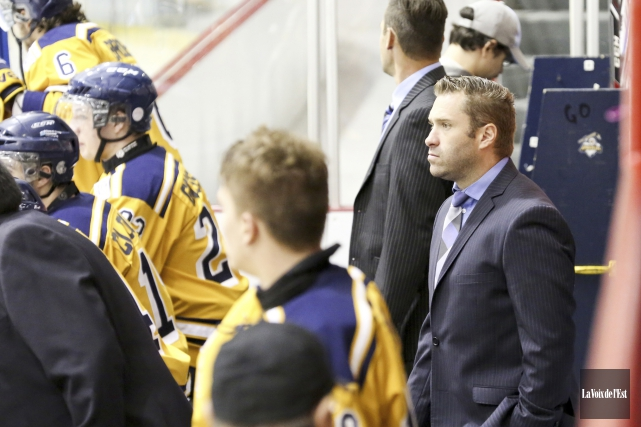 L'entraîneur-chef David Lapierre affirme que les trois défaites... (Julie Catudal, Archives La Voix de l'Est)