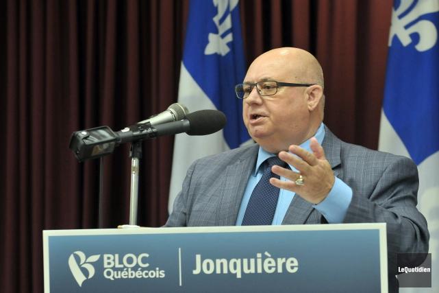 Le député sortant du Bloc québécois dans Jonquière-Alma,... (Archives Le Quotidien)