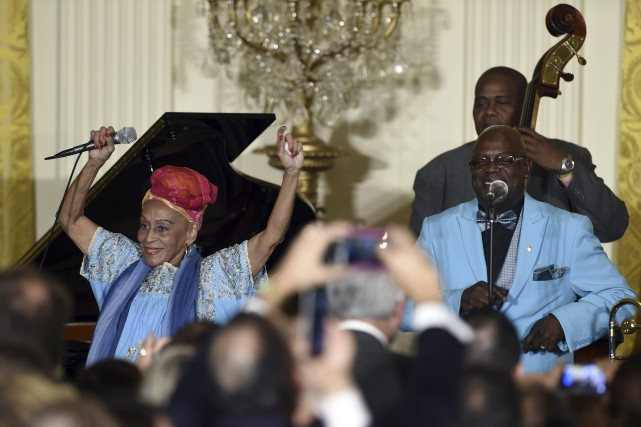 L'Orquesta Buena Vista Social Club participait à une... (Associated Press)