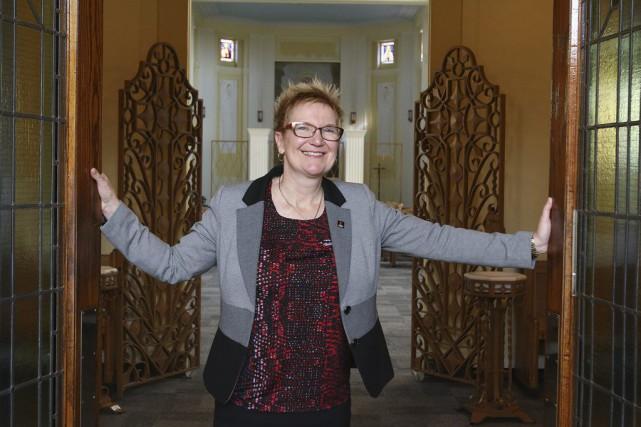 Chantal Beauvais demeure en poste à l'Université Saint-Paul.... (Patrick Woodbury, LeDroit)