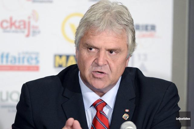 Marc Pettersen, candidat du Parti libéral dans Jonquière.... ((Archives Le Quotidien))
