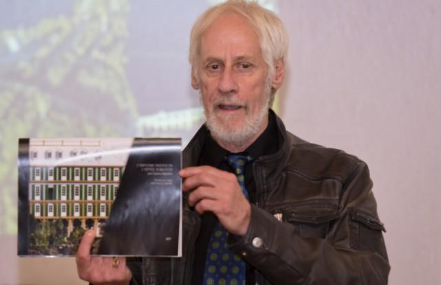 Yvon Leclerc, chercheur indépendant, est venu présenté le... (Photo: François Gervais)