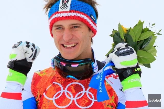 Matthias Mayer a remporté la médaille d'or en... (Photothèque Le Soleil)