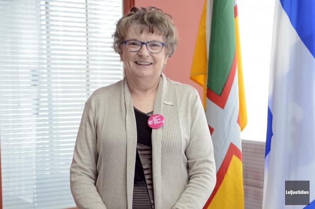 La candidate bloquiste dans Chicoutimi-Le Fjord, Élise Gauthier,... (Archives Le Quotidien, Jeannot Lévesque)