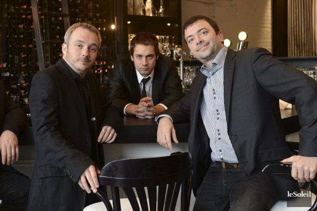 À 48 heures des élections, Vincent Bolduc, Jean-François... (Photothèque Le Soleil)