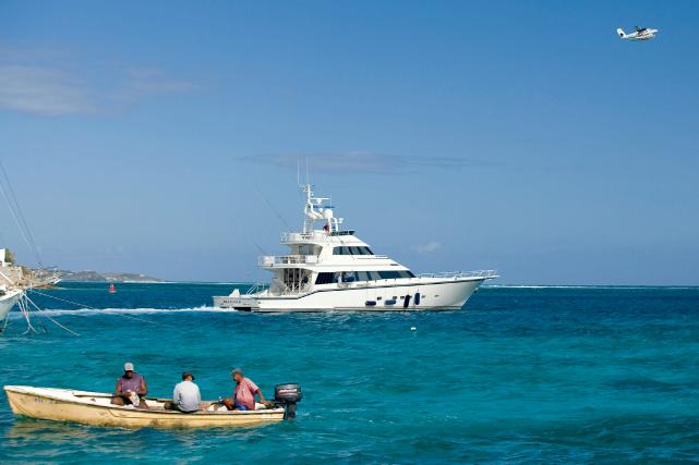 Les îles Vierges britanniques sont le cinquièmedestinataire d'investissements... (PHOTO JEFFERY SALTER, ARCHIVES BLOOMBERG)
