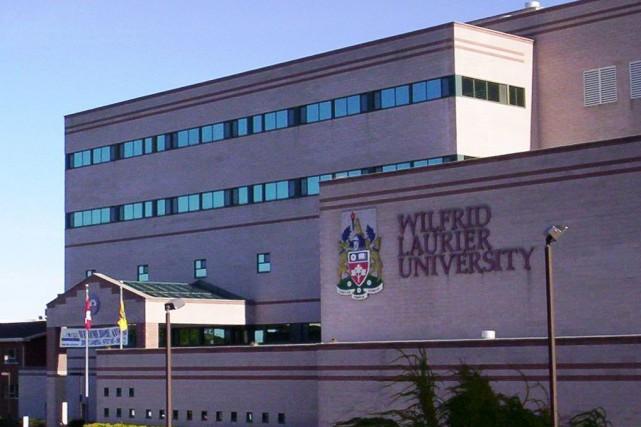 L'Université Wilfrid Laurier avait fermé ses portes tôt... (PHOTO WIKIPÉDIA)