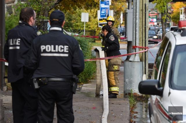Après les sept incendies criminels survenus dans la... (Photo: François Gervais, Le Nouvelliste)