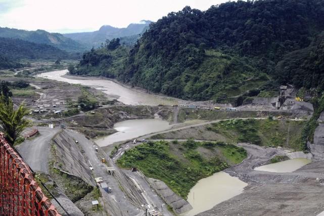 Le complexe, situé en pleine jungle près de... (PHOTO MARCO SIBAJA, ARCHIVES AFP)