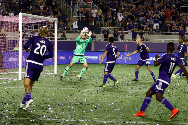 Si l'Orlando City FC ne gagne pas contre... (Photo Reinhold Matay, USA Today)