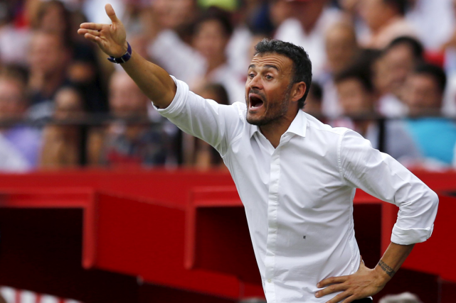 L'entraîneur du FC Barcelone, Luis Enrique.... (Photo Marcelo del Pozo, Reuters)