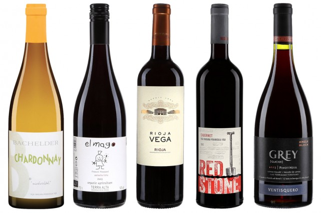 L'automne s'installe, le temps est froid et gris. Voici cinq vins, fraîchement... (Photos fournies par la SAQ)