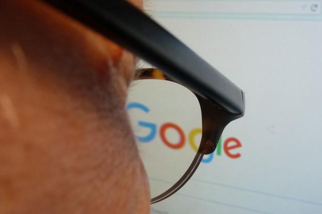 Google a annoncé jeudi avoir fait appel de la condamnation à 100 000 euros... (PHOTO EVA HAMBACH, ARCHIVES AFP)