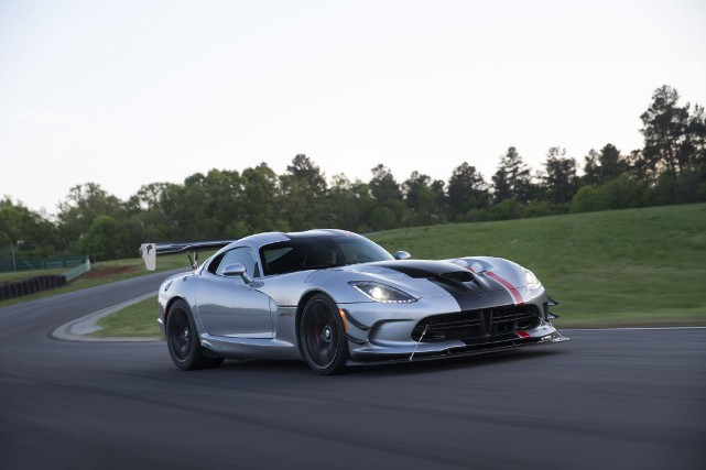 La Dodge Viper ACR 2016... (PHOTO FOURNIE PAR DODGE)