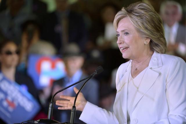 Tous candidats confondus, Hillary Clinton reste la reine,... (PHOTO DARREN ABATE, REUTERS)